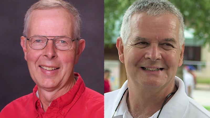 Republican Mel Pittman and Democrat Jeff Smith