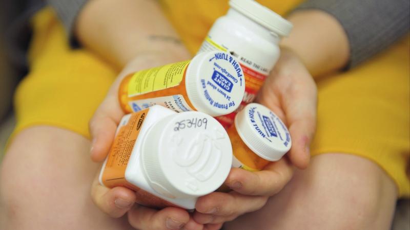 Opioid bottles