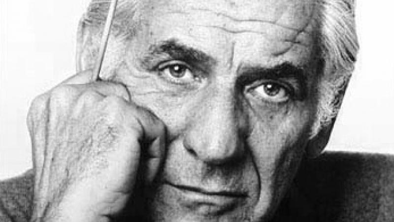 1977 Photo of Leonard Bernstein