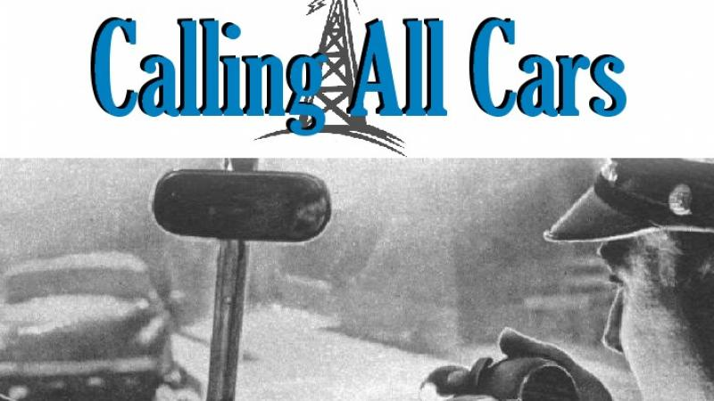 Illustration for the radio program Calling All Cars