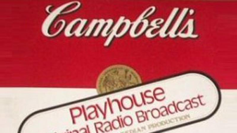 Illustration for the radio program Campbell Playhouse