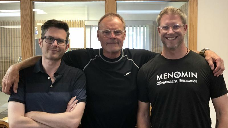 Erik Evensen Al Ross and Nels Paulson