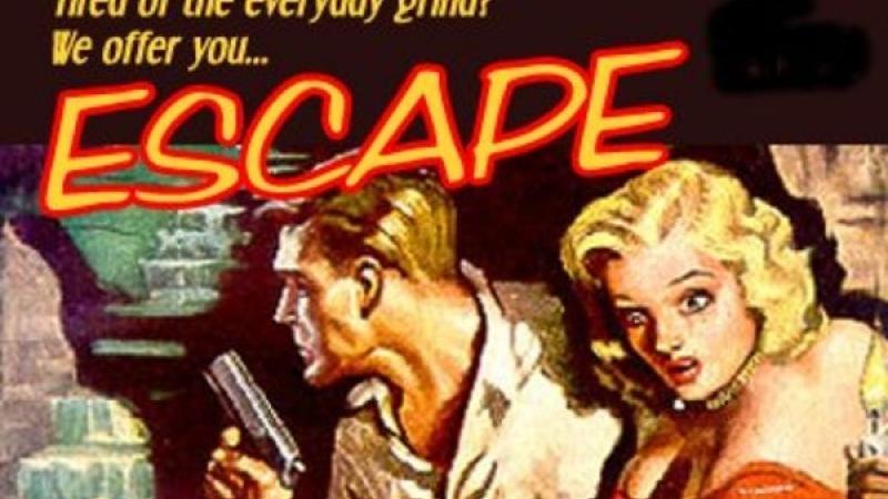 Illustration for radio program Escape