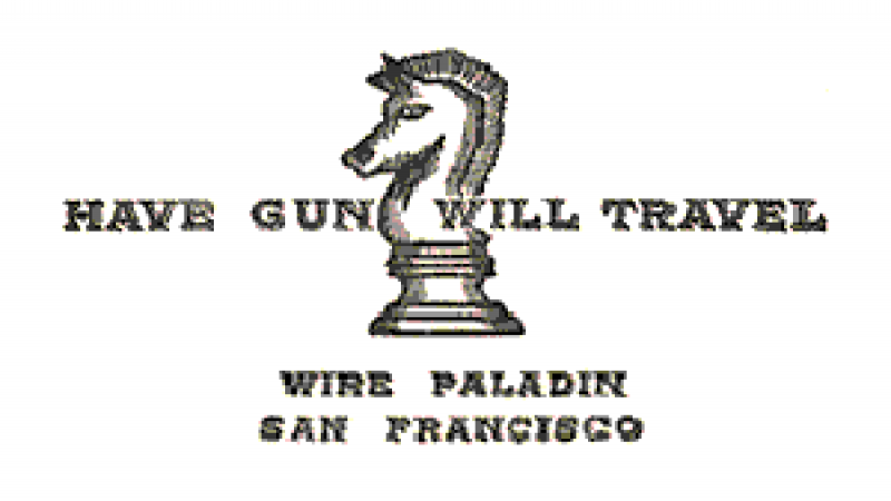 Graphic of the calling card for Have Gun - Will Travel