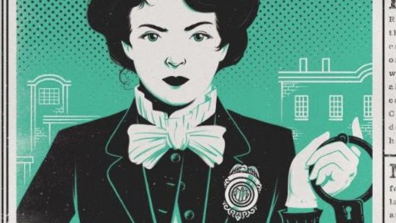 Bookcover for Lady Cop Makes Trouble