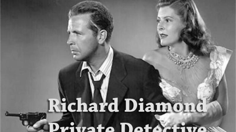 Image from Richard Diamond radio program