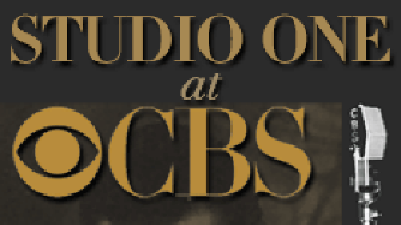 Illustration for the CBS radio program Studio One