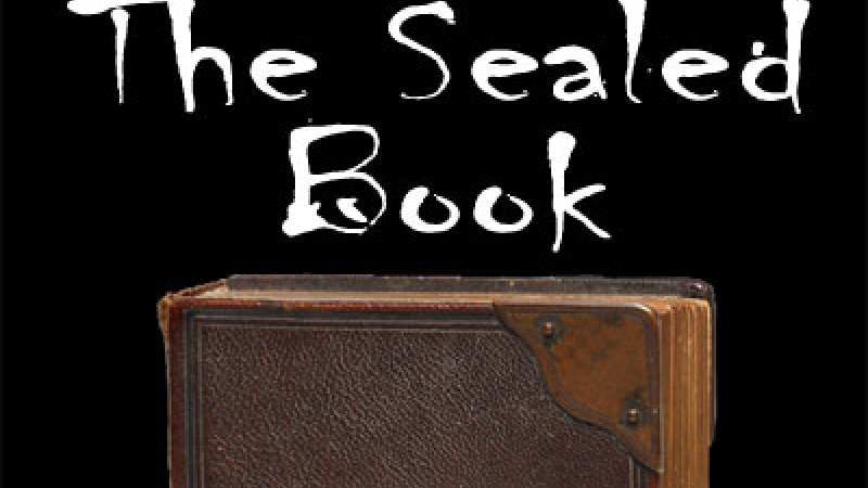 Graphic for the radio program The Sealed Book