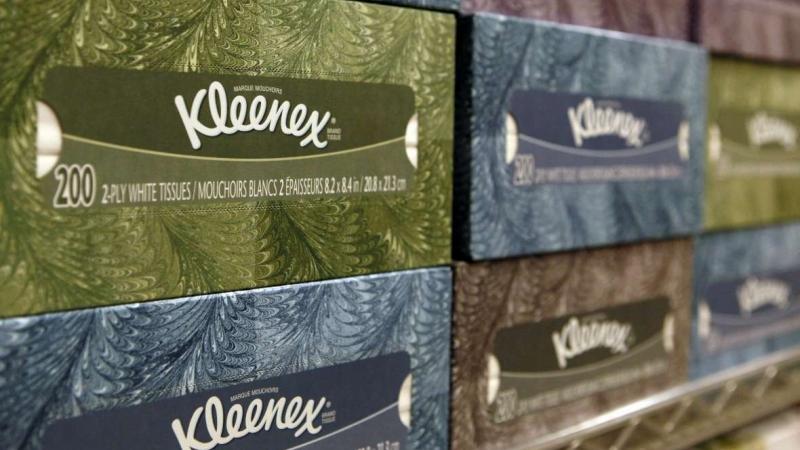 Kleenex tissues