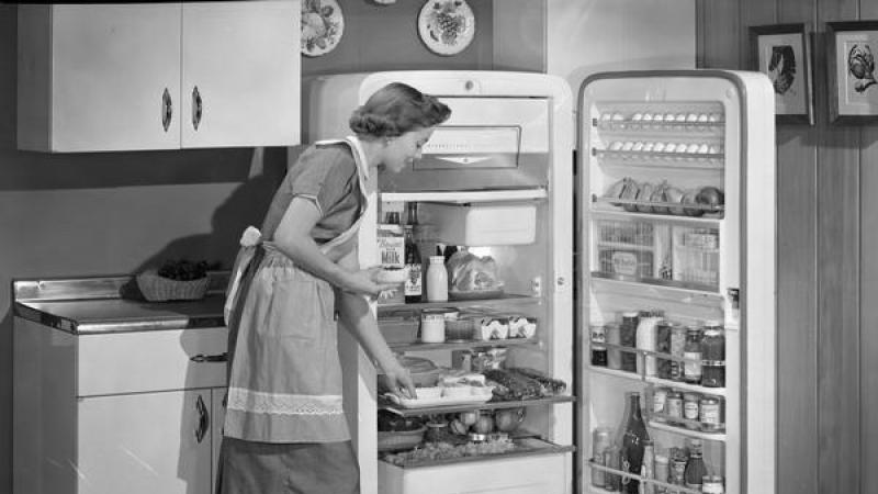 cold, fridge, houework, appliances, 1950s