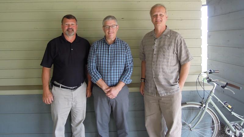 Dennis Bachman Steve Bauder and Dean Kallenbach