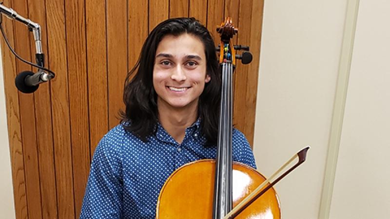 Cellist Denish Traynor