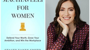 """NPR co-host of the showThe Indicator from Planet Money with the cover of her new book """"Machiavelli for Women."""""""