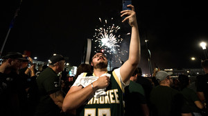 Read full article: Photos: Bucks Fans Jubilant After Game 4 Victory