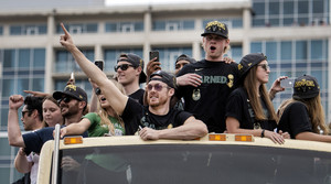 Read full article: 'We Needed This': Fans Celebrate Milwaukee Bucks In First-Ever Championship Parade