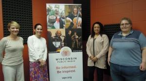 Hetti Brown, Caroline Gregerson, Danya Day and Jessica Olson