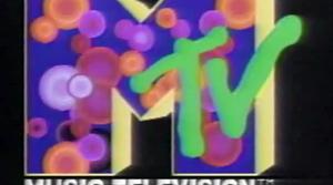 An MTV logo from 1982