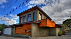 Laneway home in Vancouver, BC