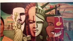 A mural by Milwaukee-born artist Reynaldo Hernandez