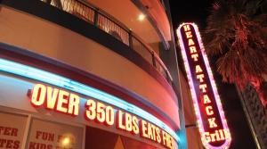 The Heart Attack Grill in Las Vegas, Nevada