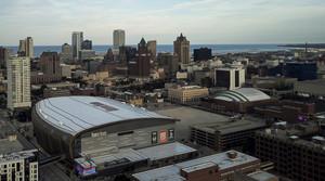 Fiserv Forum in Milwaukee