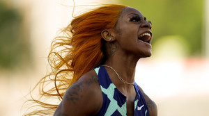 Sha'Carri Richardson after race