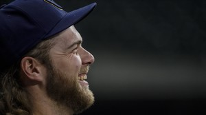 Read full article: Led by ace Corbin Burnes, Brewers begin playoff run against Braves
