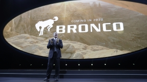 2020 Ford Bronco announcement