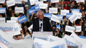2020 Democratic presidential candidate Bernie Sanders