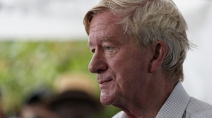 Massachusetts Gov. Bill Weld speaking in Iowa