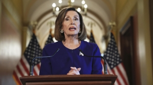 Nancy Pelosi announces formal impeachment inquiry of President Trump on Capitol Hill.