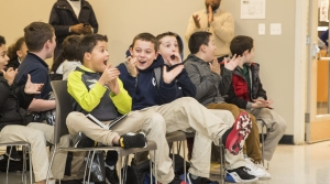 Boys in a classroom