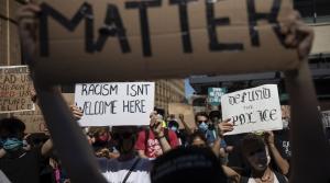 BLM protesters in Philadelphia