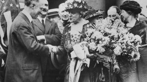 Women's suffrage leader Carrie Chapman Catt