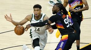 Read full article: Bucks Drop Game 1 Of NBA Finals Despite Return Of Giannis