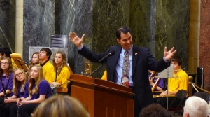 Read full article: Walker: Lawmakers Should Wait Until Budget's Passage Before Acting On Right-To-Work