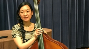 Photo of bassist Linda Oh
