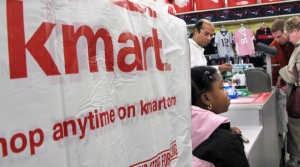 People shopping at Kmart