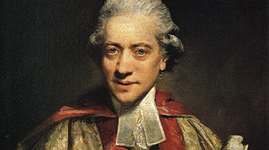 Portrait of Charles Burney