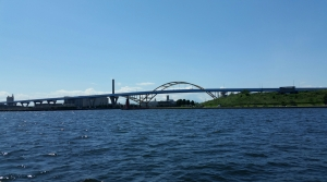 Milwaukee Harbor and Hoan Bridge
