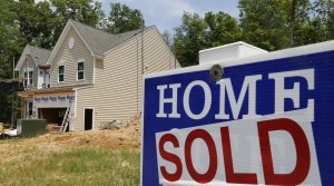 """""""Home sold"""" sign"""