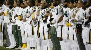 Read full article: Packers Fans Divided Over Locking Arms During National Anthem