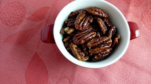 Read full article: Candied Spiced Pecans With Rosemary