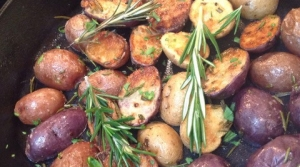 Read full article: RECIPE: Cast-Iron Skillet Roasted Rosemary Potatoes