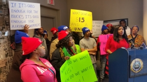 Read full article: Fight For $15 An Hour Expands To Airport Concessions Workers