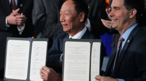 Read full article: Walker, Foxconn Leader Sign Historic Wisconsin Contract