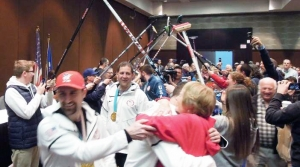 Read full article: Under Canopy Of Brooms, Twin Ports Celebrate Hometown Olympic Curlers