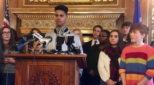Read full article: Madison Students, Democrats Call For Action On Gun Bills