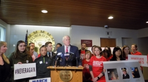 Read full article: Milwaukee Mayor, Local Organizers Push For Background Checks On All Gun Sales