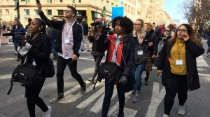 Read full article: Milwaukee Student Journalists Balance Objectivity, Emotion At D.C. Gun March